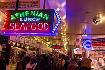 Pike Place Market, Seattle [Credit: Stefano Costanzo]