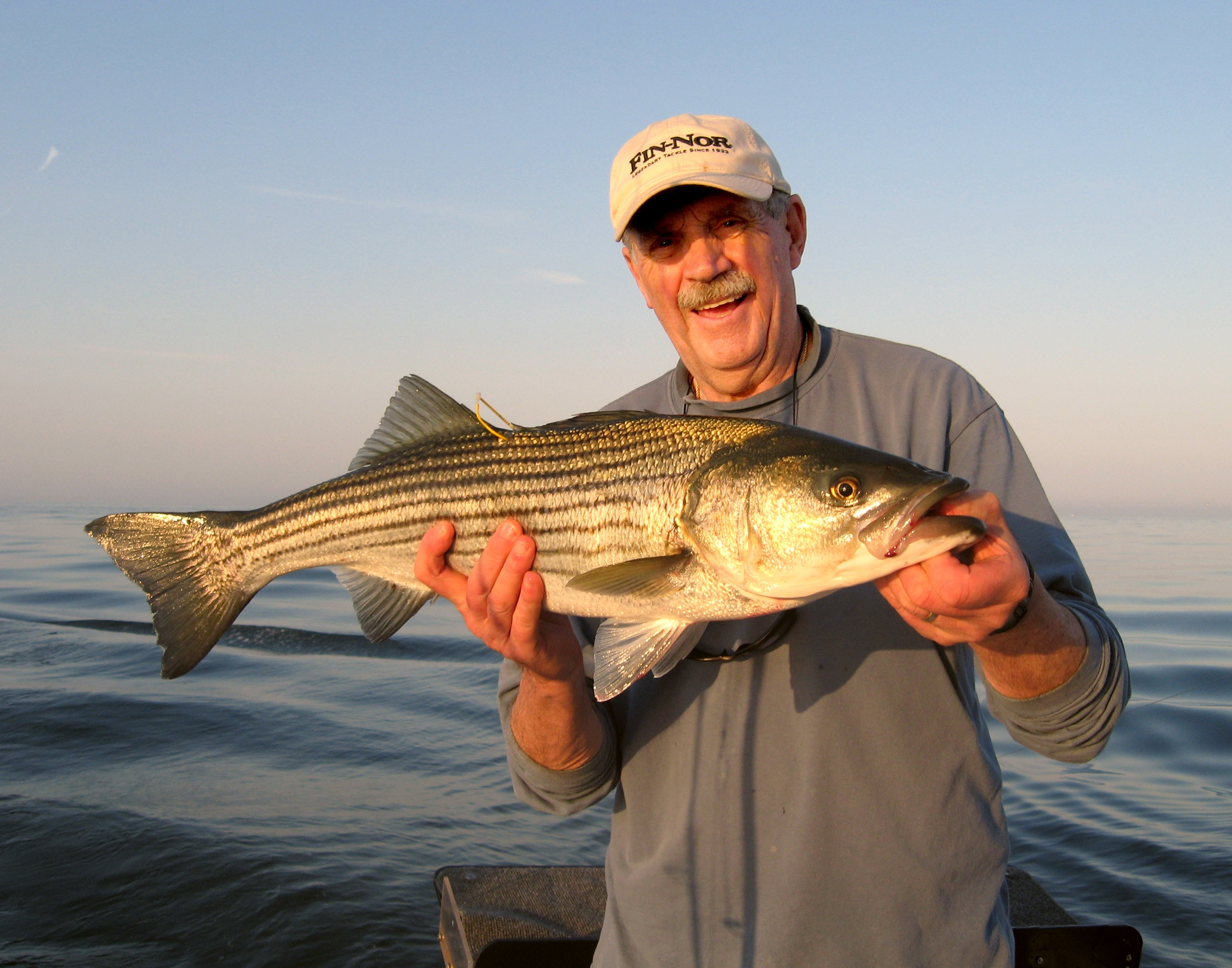Conservation minded charter captains see the value in for Striper fishing ri