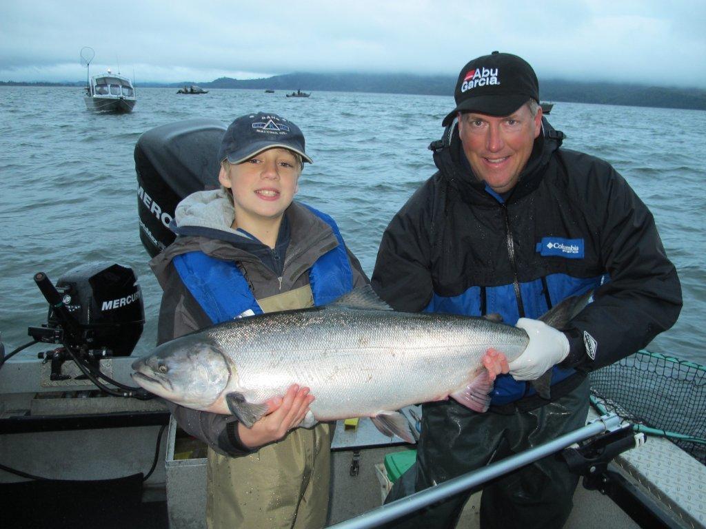 Where are all the tillamook hogs marine fish for Tillamook bay fishing