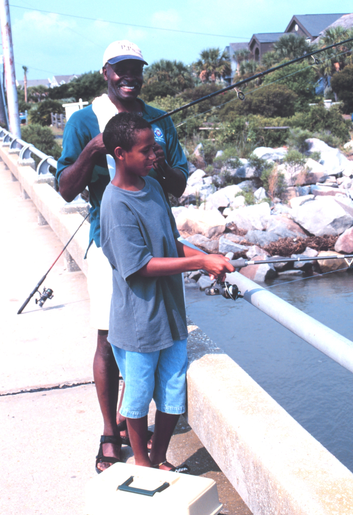 Our history marine fish conservation network for Father son fishing