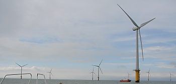 Offshore wind farm in the UK
