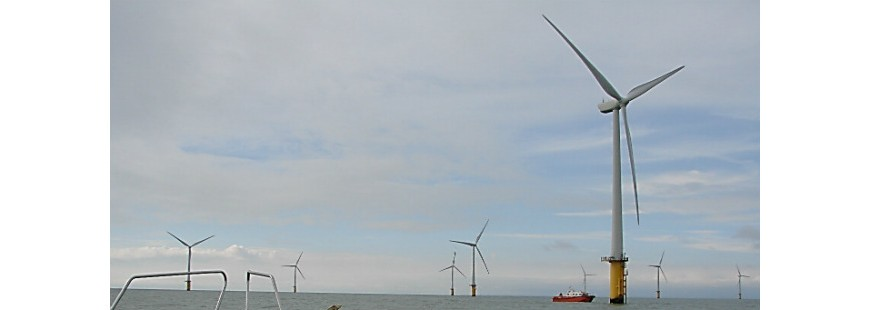 Wind farm in the United Kingdom