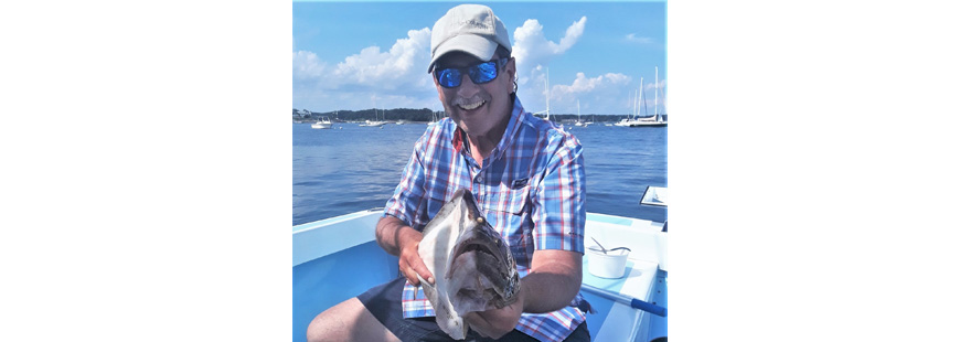 Capt. Dave Monti with fluke. NOAA gave east coast states a pass in 2020. However, new data shows anglers catching more fish than originally thought, and so 2021 regulations will likely be less liberal.