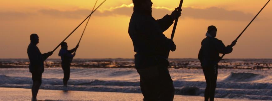 Anglers on the Beach