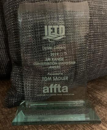 Jim Range Conservation Leadership Award
