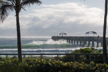 This photo and top: Lake Worth Pier. Credit: Nicola Lugo.