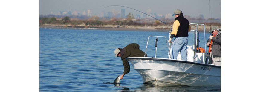 Recreational anglers. Photo by John McMurray.