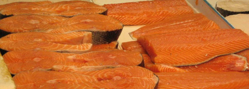 Salmon Steaks & Fillets